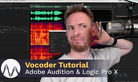 Vocoder Tutorial – How To Use a Vocoder in Adobe Audition & Logic Pro X