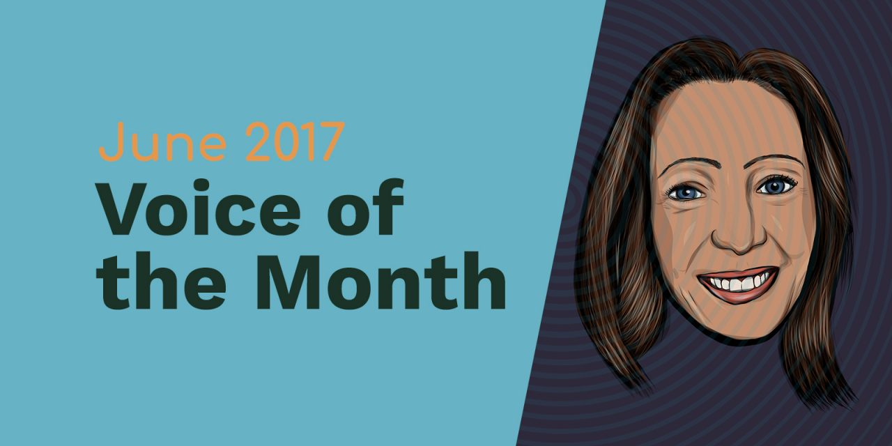 June 2017 – Voice of the Month – Amie Breedlove