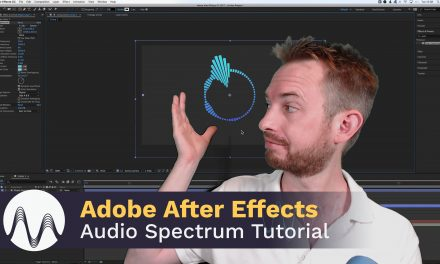 Adobe After Effects Audio Spectrum Tutorial
