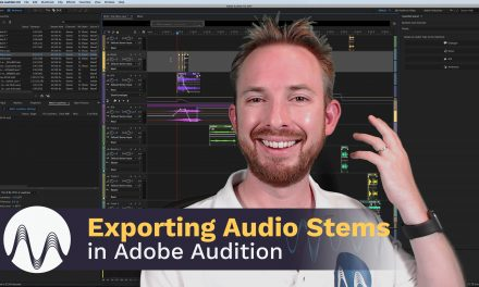 Exporting Audio Stems in Adobe Audition