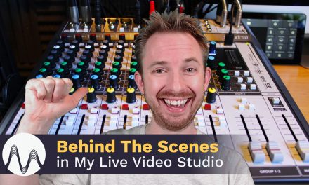 Behind The Scenes in My Live Video Studio