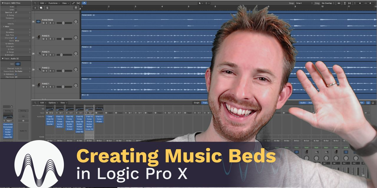Creating Music Beds in Logic Pro X