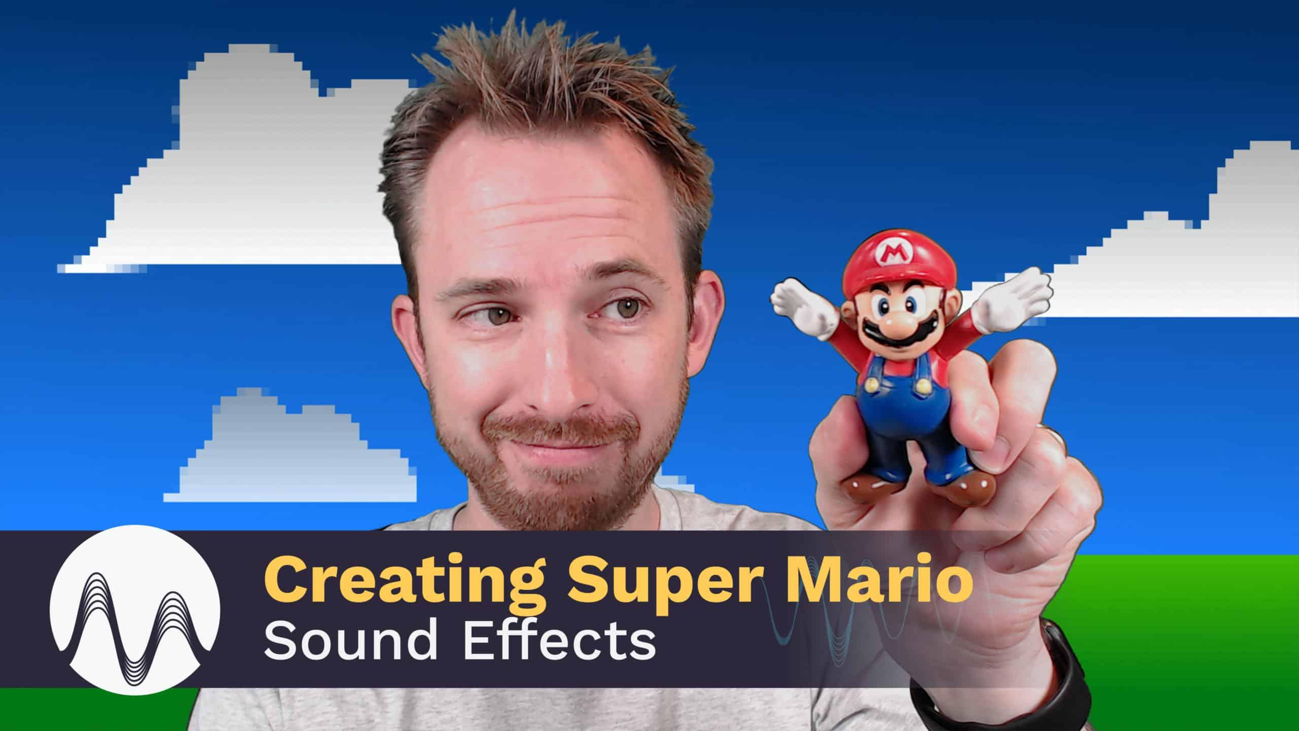 creating super mario bros sound effects