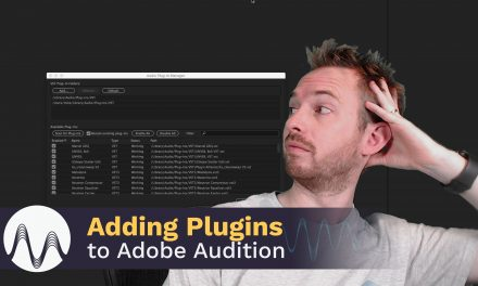 How to Add Plugins to Adobe Audition