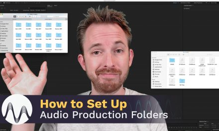 How to Set up Audio Production Folders