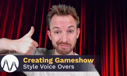 Creating Gameshow Style Voice Overs