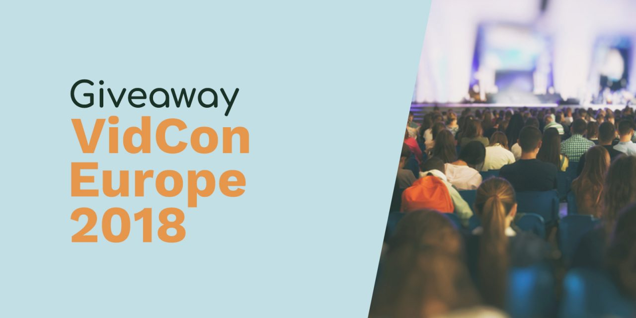 VidCon Europe 2018 Giveaway