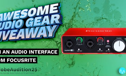 Win an Audio Interface from Focusrite