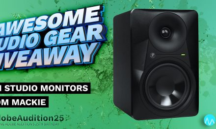 Win Studio Monitors from Mackie