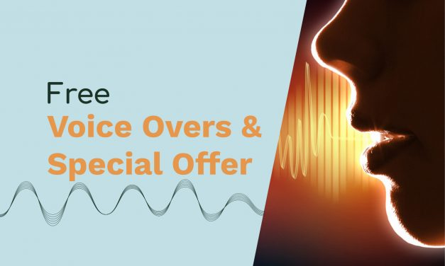 Week 3 Summer of Sound Specials – Free Voice Overs and Special Offer On Audio Coaching and Presets