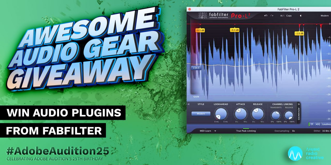 Win Audio Plugins from FabFilter