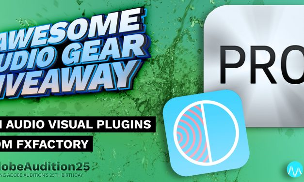 Win Audio Visual Plugins from FxFactory