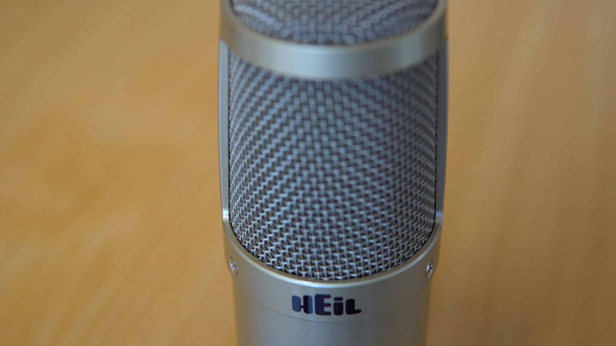 Heil PR 30 for Podcasting