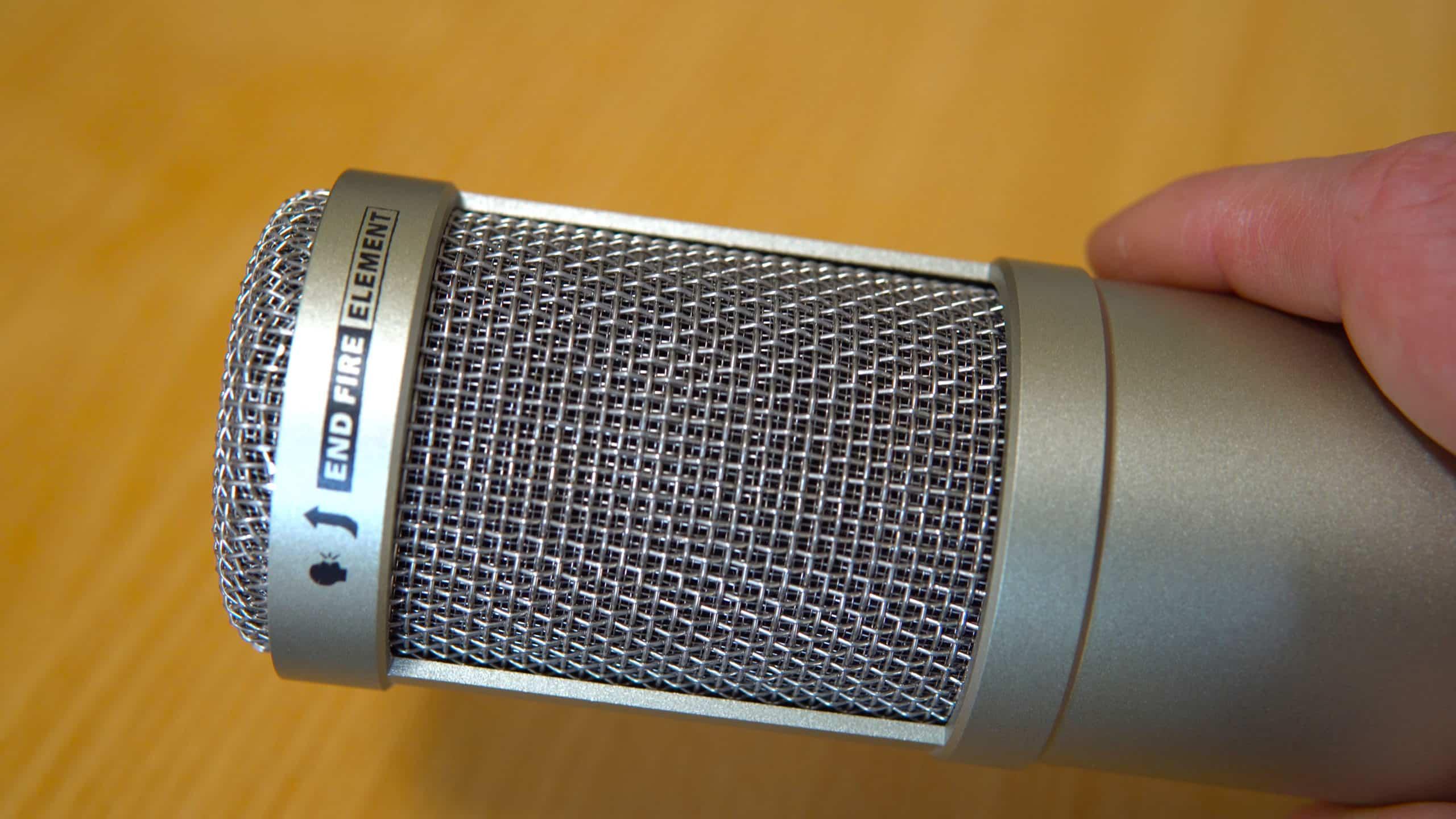 Heil PR 40 Microphone End Fire Element