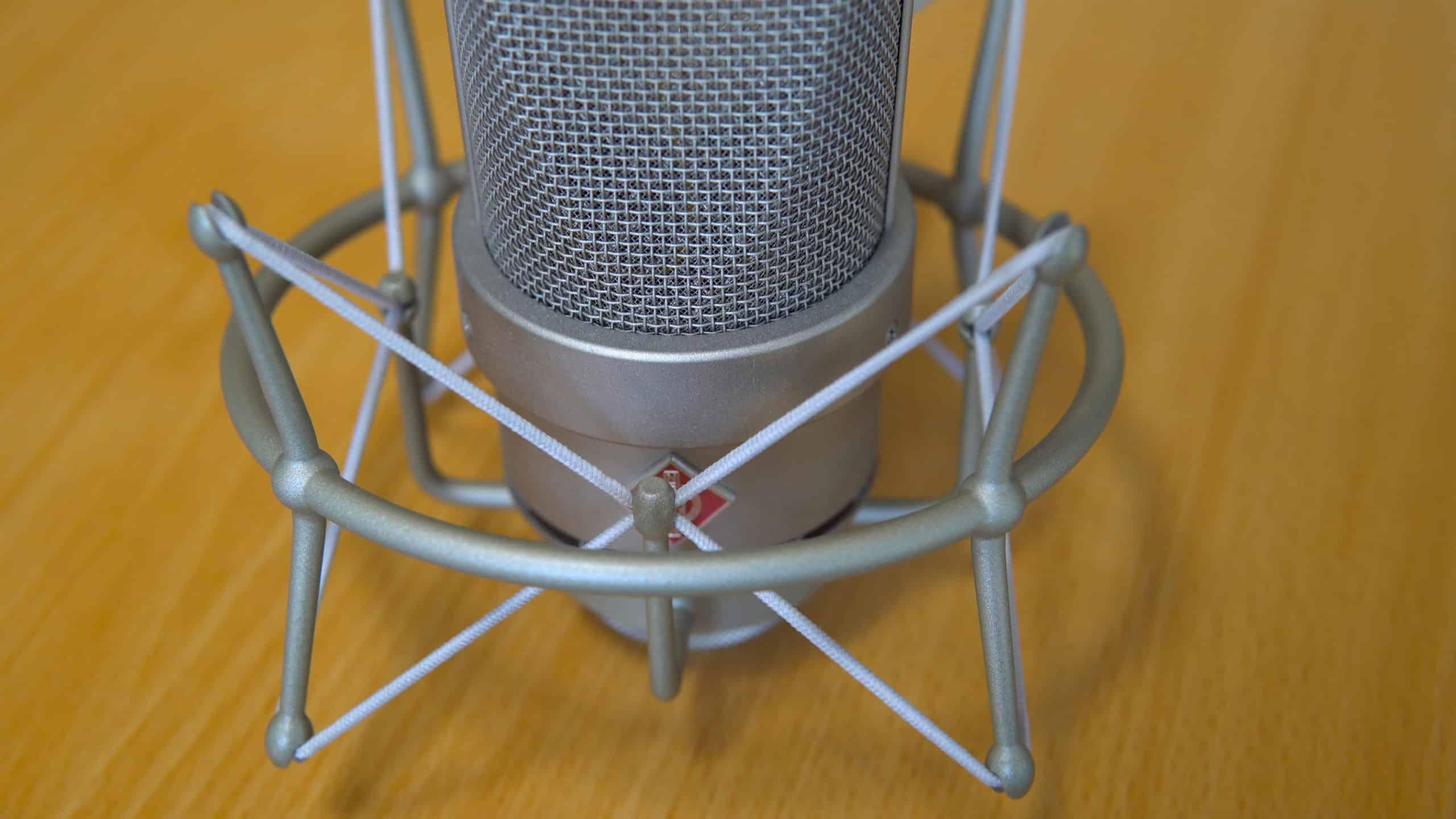 Neumann TLM 103 for Podcasting