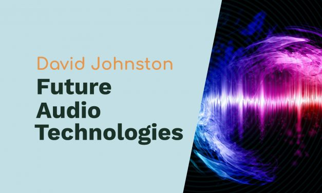 David Johnston: Cool Edit Pro, Machine Learning, and Future Audio Technologies