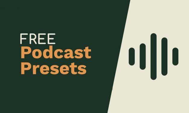 Free Adobe Audition Presets For Podcasters