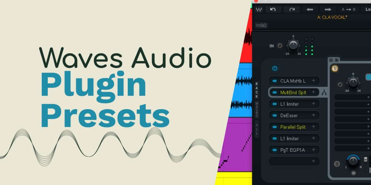 Waves Audio Plugin Presets